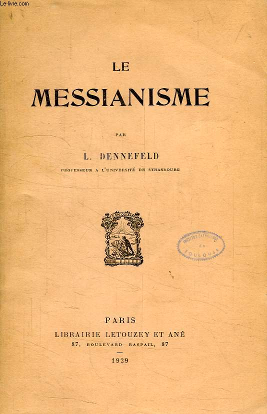 LE MESSIANISME