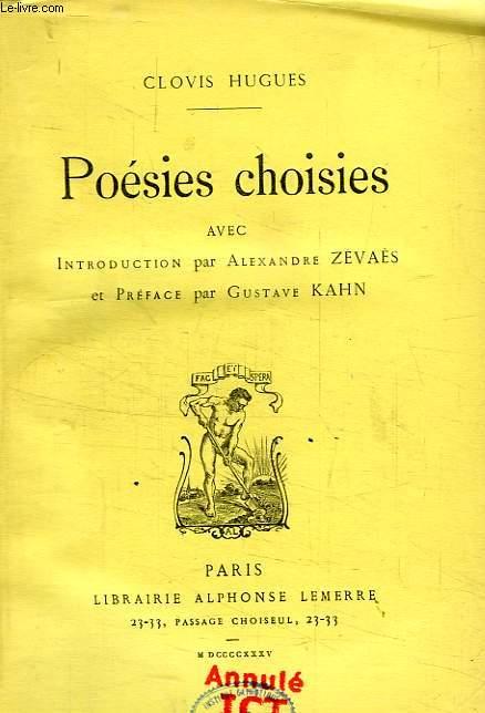 POESIES CHOISIES