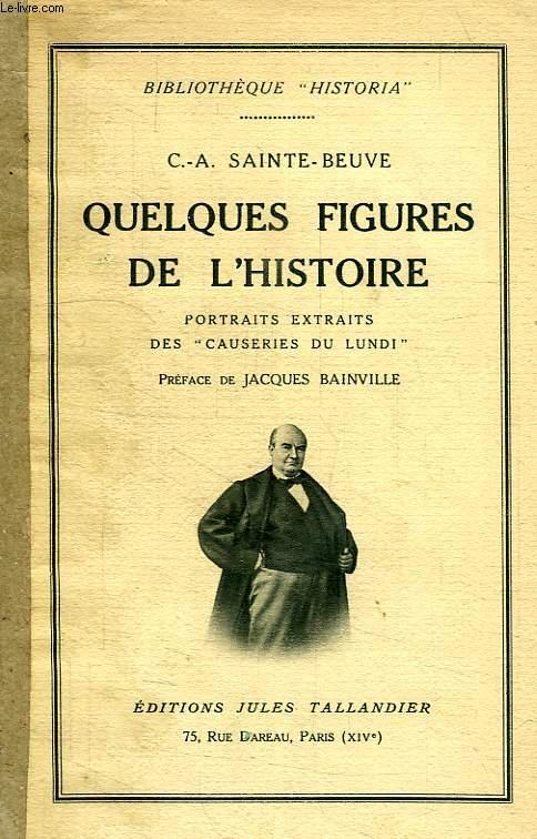 QUELQUES FIGURES DE L'HISTOIRE