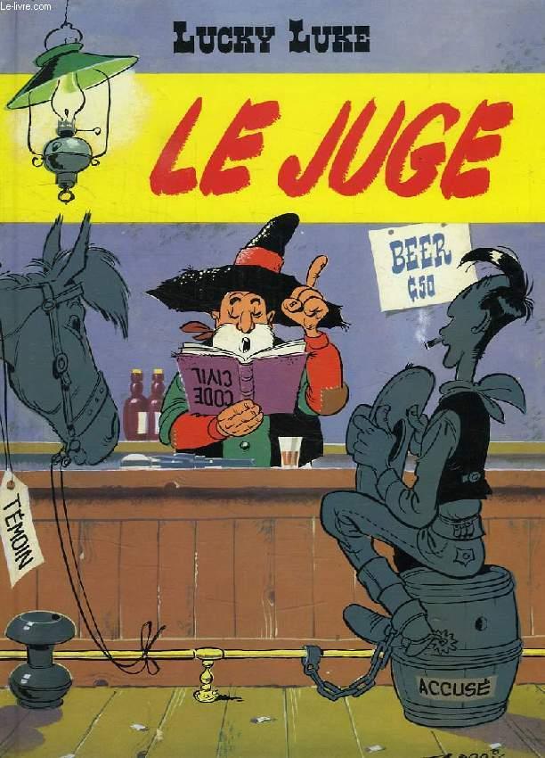 LUCKY LUKE, LE JUGE