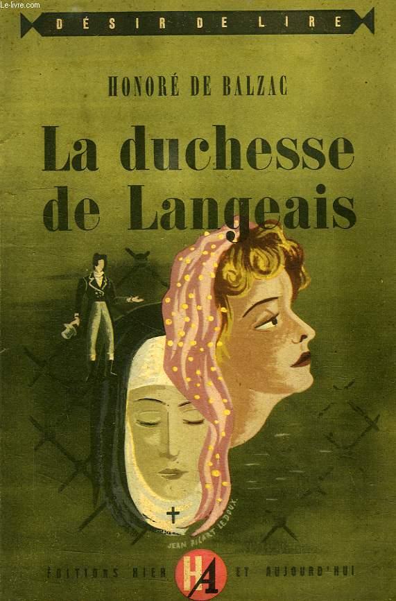 LA DUCHESSE DE LANGEAIS