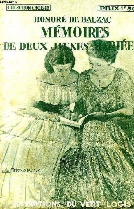 MEMOIRES DE DEUX JEUNES MARIEES