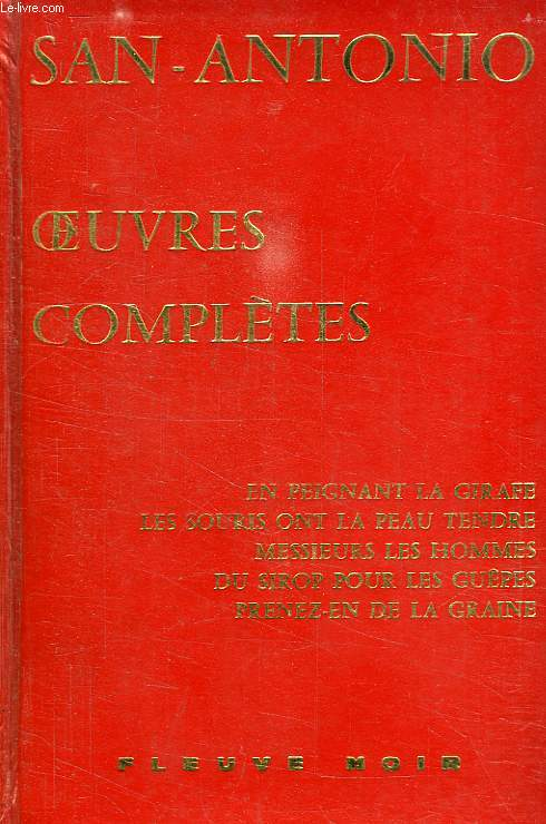 OEUVRES COMPLETES, TOME II