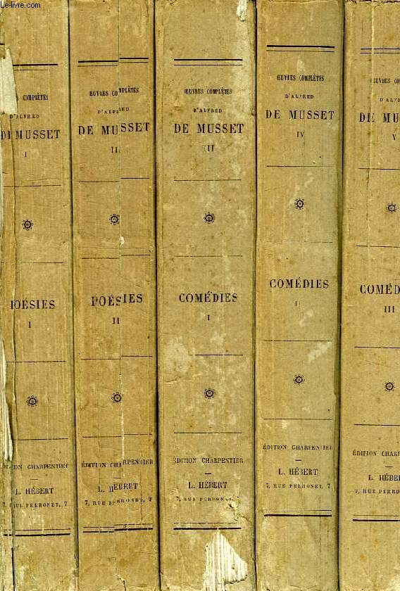 OEUVRES COMPLETES, 11 VOLUMES (COMPLET)