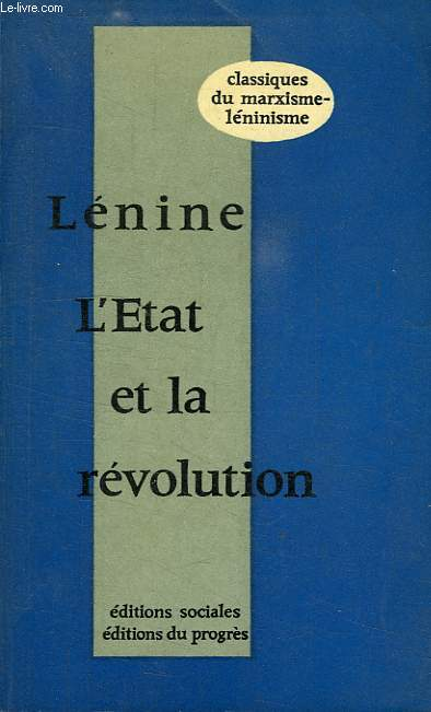 L'ETAT ET LA REVOLUTION