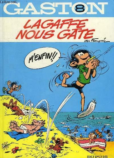 GASTON, N° 8, LAGAFFE NOUS GATE