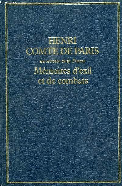 MEMOIRES D'EXIL ET DE COMBATS