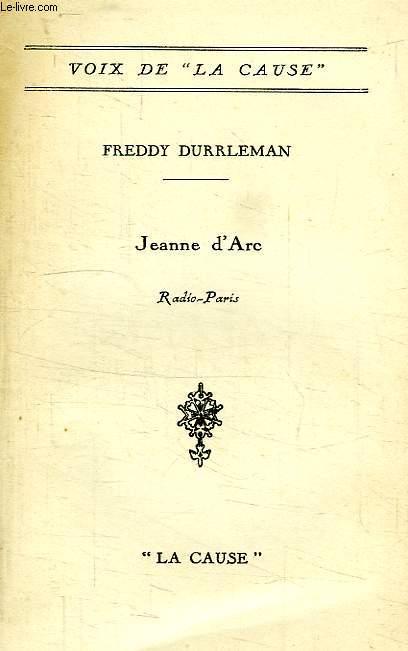 JEANNE D'ARC, RADIO-PARIS