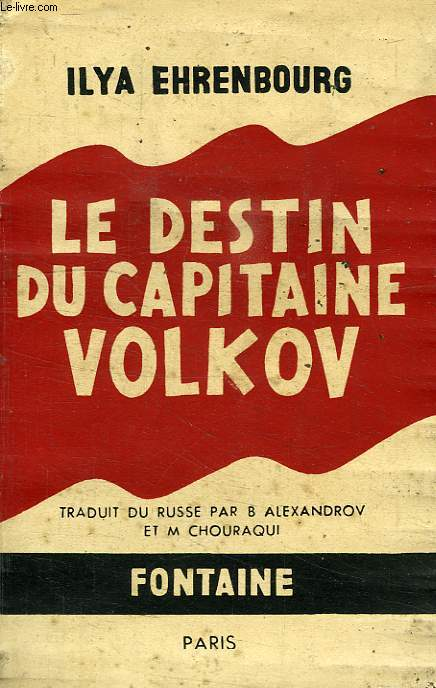 LE DESTIN DU CAPITAINE VOLKOV