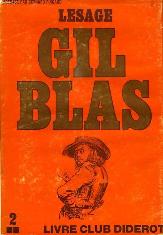 HISTOIRE DE GIL BLAS DE SANTILLANE, TOME 2