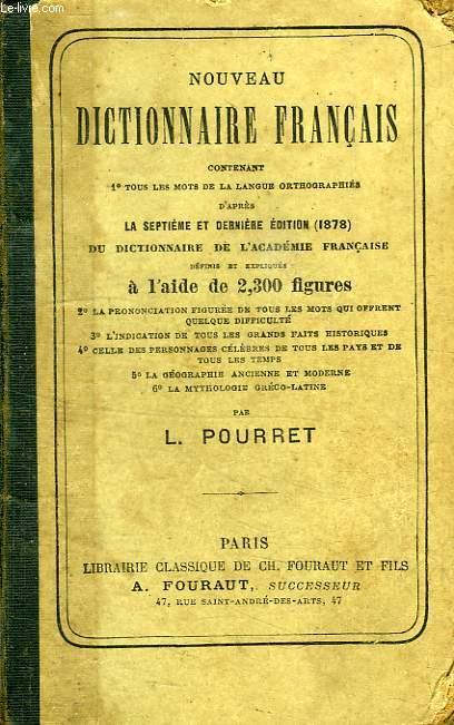 NOUVEAU DICTIONNAIRE FRANCAIS