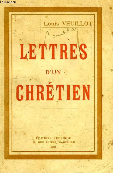 LETTRES D'UN CHRETIEN