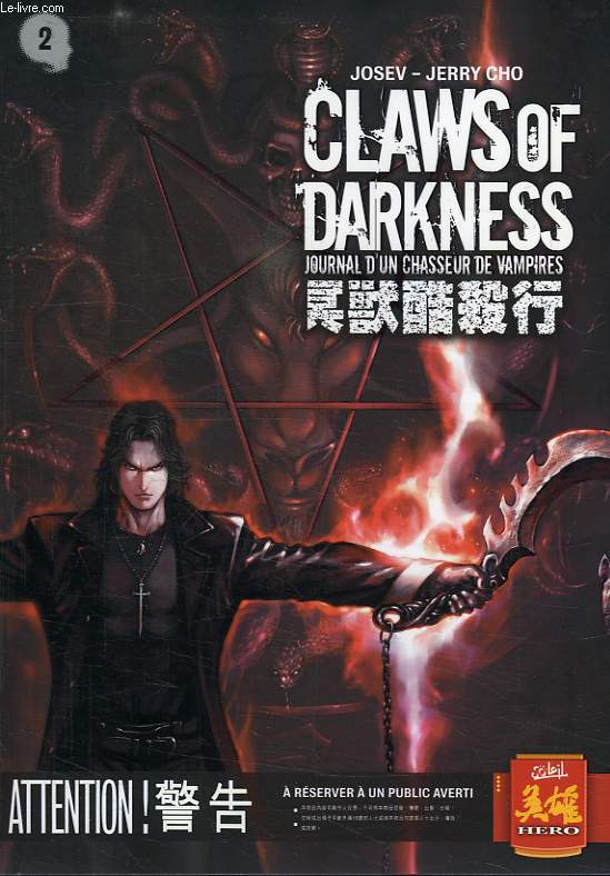CLAWS OF DARKNESS, JOURNAL D'UN CHASSEUR DE VAMPIRES, N° 2