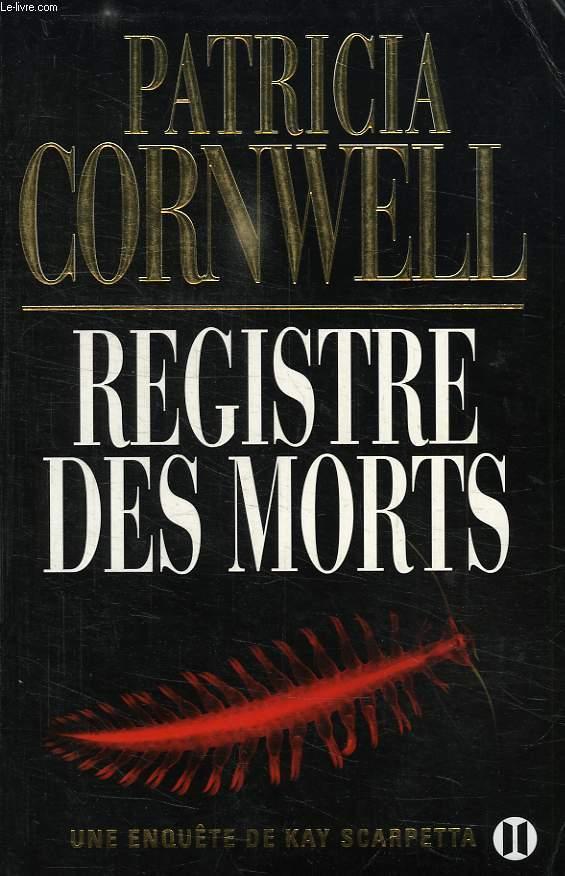 REGISTRE DES MORTS