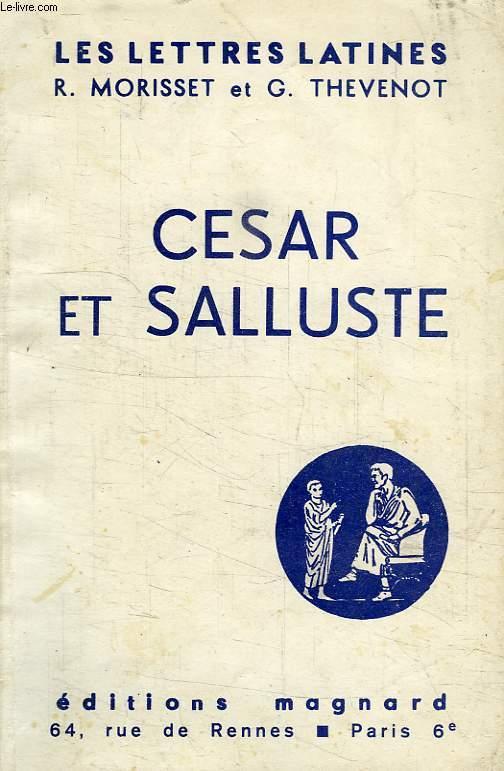 CESAR ET SALLUSTE (CHAPITRES XI ET XII DES 'LETTRES LATINES')