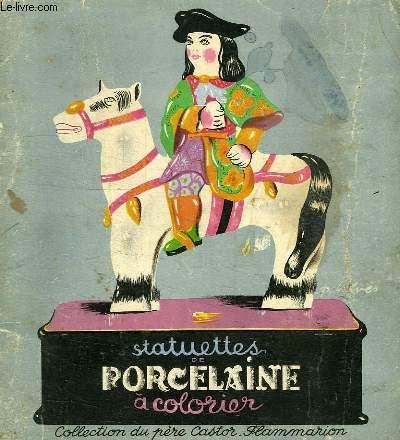 STATUETTES DE PORCELAINE A COLORIER