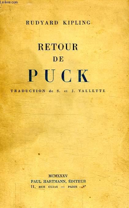 RETOUR DE PUCK