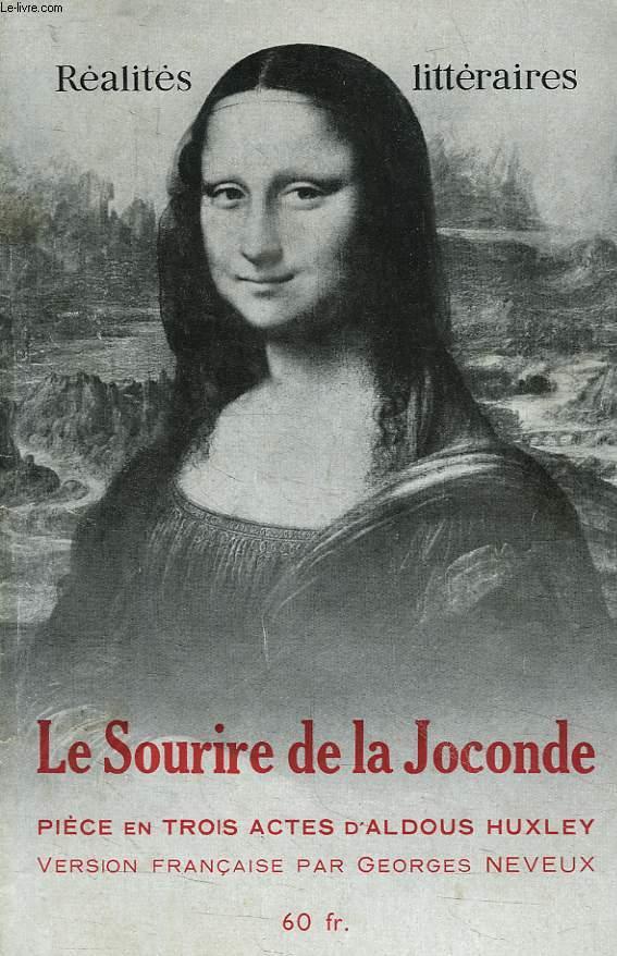 LA COLLECTION LITTERAIRE DE REALITES PRESENTE, N° 21, LE SOURIRE DE LA JOCONDE