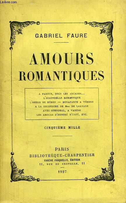 AMOURS ROMANTIQUES