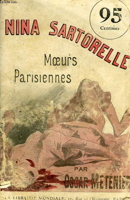 NINA SARTORELLE, MOEURS PARISIENNES