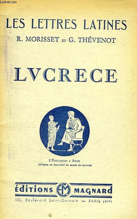 LUCRECE, CHAPITRE VIII DES 'LETTRES LATINES'