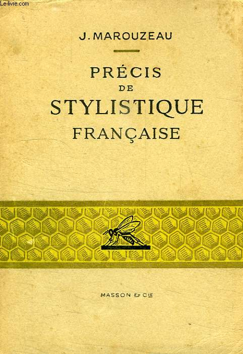 PRECIS DE STYLISTIQUE FRANCAISE