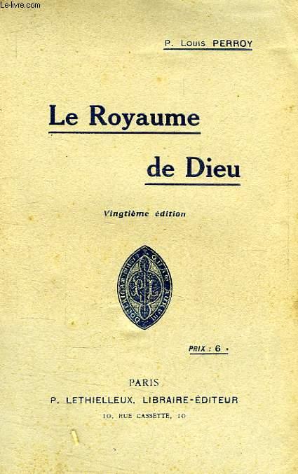 LE ROYAUME DE DIEU