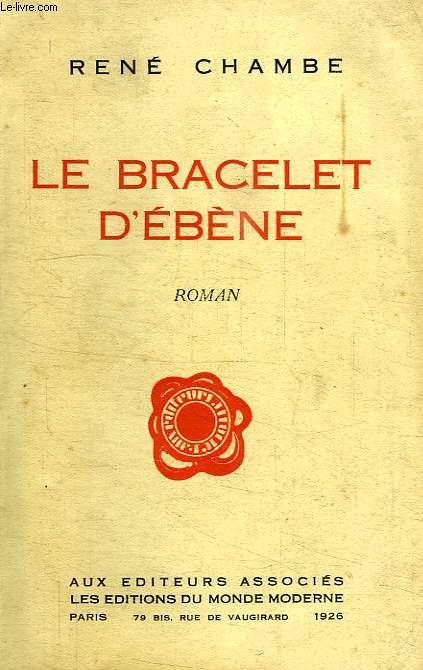 LE BRACELET D'EBENE