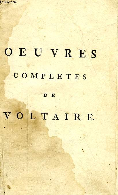 OEUVRES COMPLETES, CONTES EN VERS