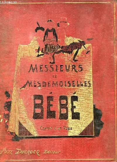 MESSIEURS ET MESDEMOISELLES, BEBE, CARNET D'UN PAPA
