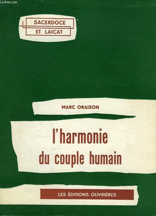L'HARMONIE DU COUPLE HUMAIN