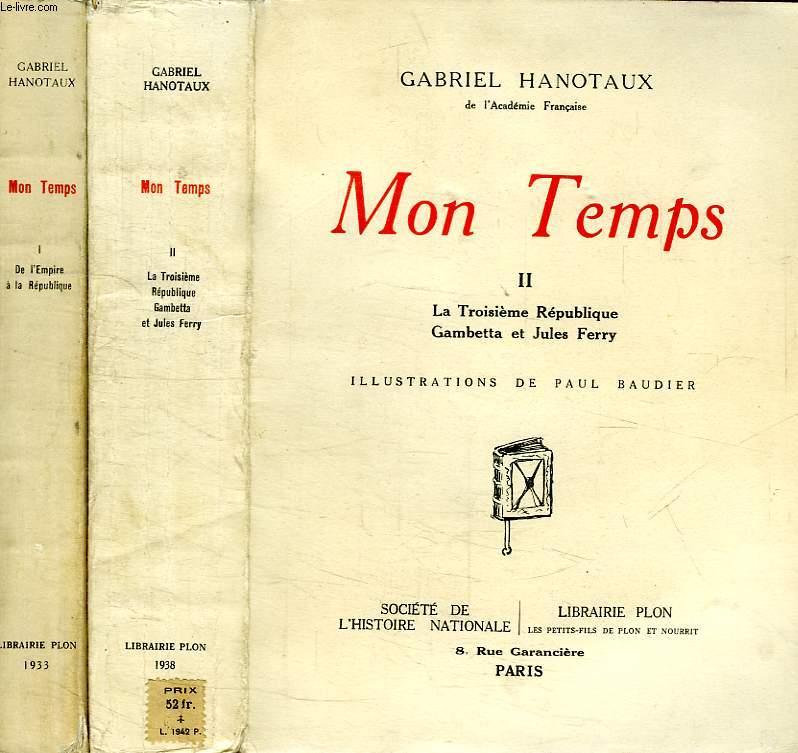 MON TEMPS, 2 TOMES