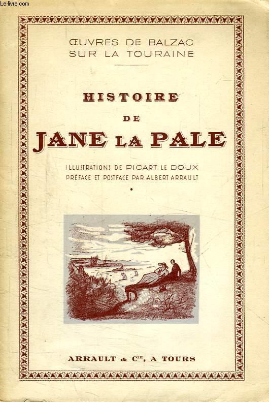 HISTOIRE DE JANE LA PALE
