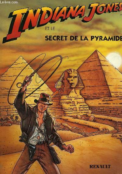 INDIANA JONES ET LE SECRET DE LA PYRAMIDE