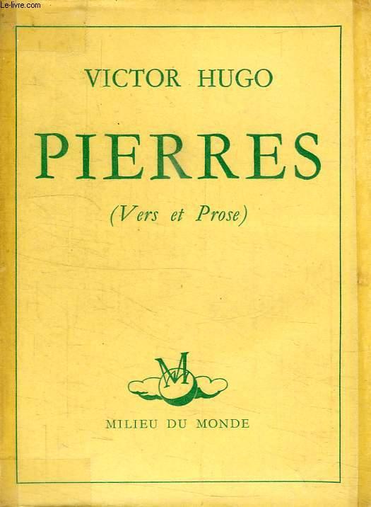PIERRES (VERS ET PROSE)
