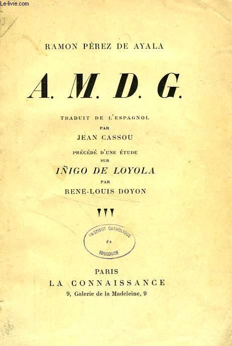 A.M.D.G