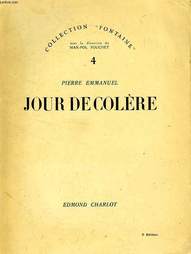 JOUR DE COLERE