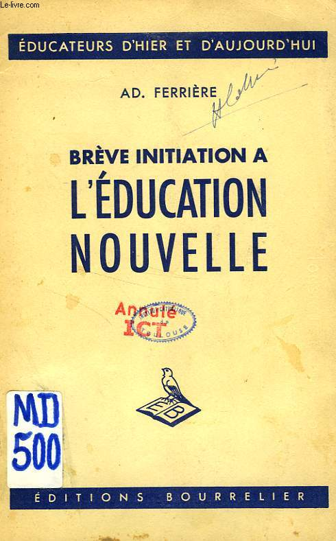 BREVE INITIATION A L'EDUCATION NOUVELLE