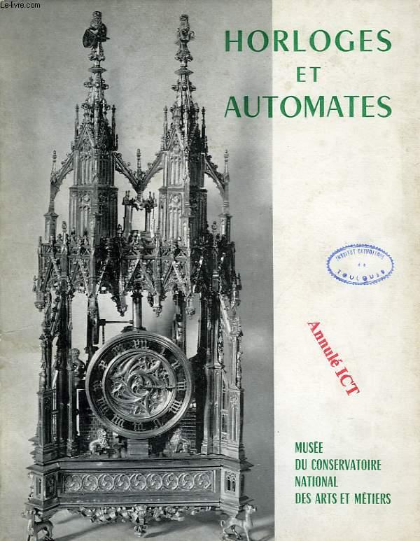 HORLOGES ET AUTOMATES (CATALOGUE)
