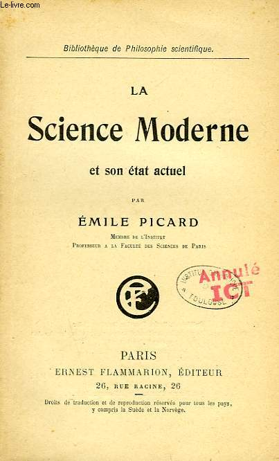 LA SCIENCE MODERNE