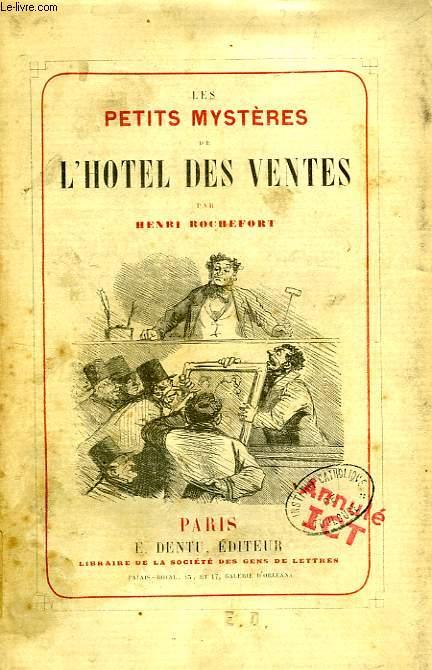 LES PETITS MYSTERES DE L'HOTEL DES VENTES
