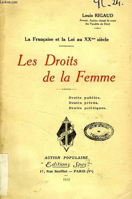 LES DROITS DE LA FEMME