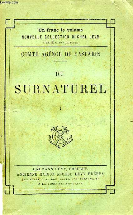 DU SURNATUREL, 2 TOMES