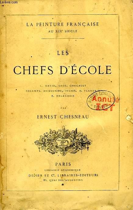 LES CHEFS D'ECOLE