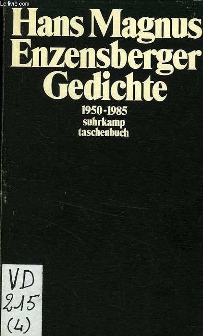 GEDICHTE, 1950-1985