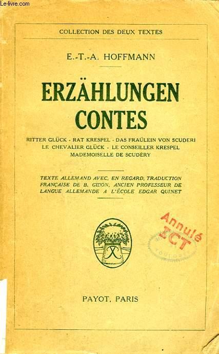 ERZAHLUNGEN, CONTES