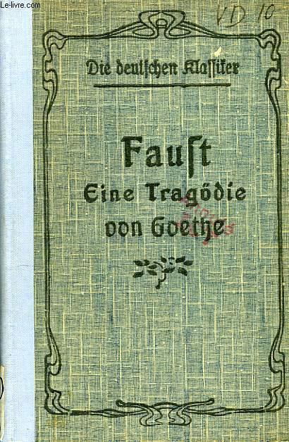 FAUST, EINE TRAGODIE