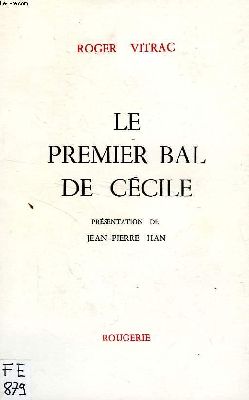 LE PREMIER BAL DE CECILE
