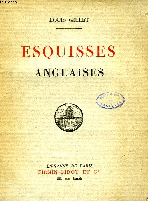 ESQUISSES ANGLAISES