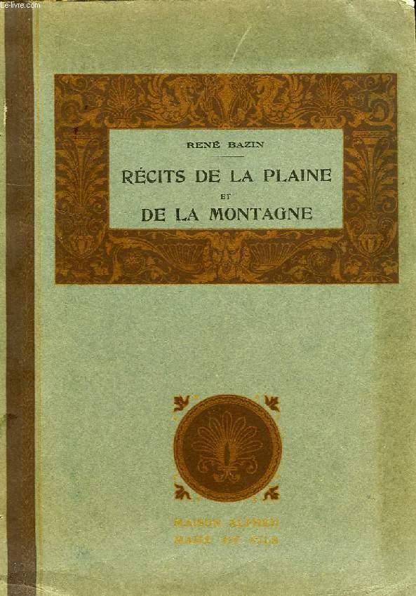 RECITS DE LA PLAINE ET DE LA MONTAGNE